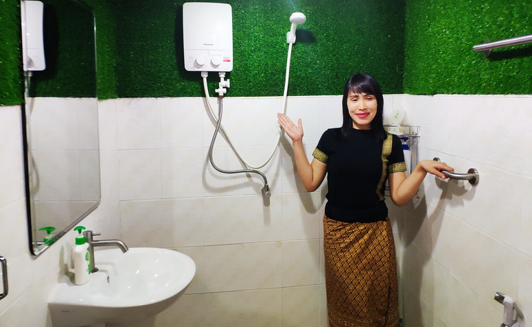 Buriram Warm Water Shower