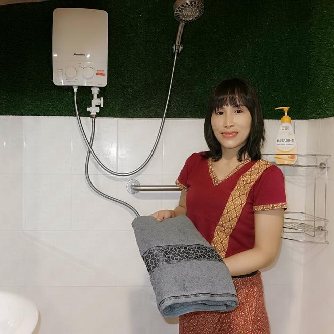 Buriram Massage Hot Shower Spa Bath Towel